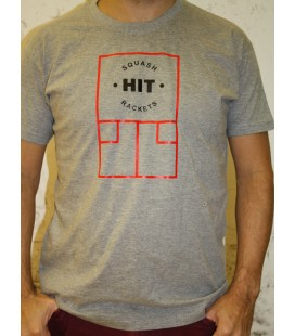 Camiseta HIT Casual Gris